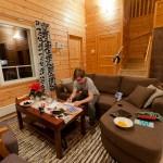 Writing christmas postcards