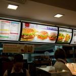 At McDonalds